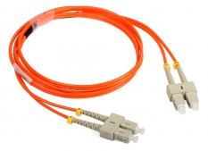 Multimódusú patchcord ULTIMODE PC-019D (2xSC-2xSC, 50/125, 1.5m)