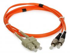 Multimódusú patchcord ULTIMODE PC-013D (2 x SC - 2 x FC, 62.5/125)